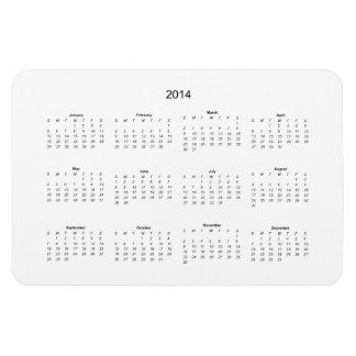 2014 Create it Yourself Calendar Magnet