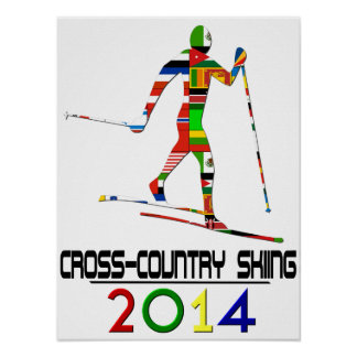 2014: Cross-Country Skiing Poster