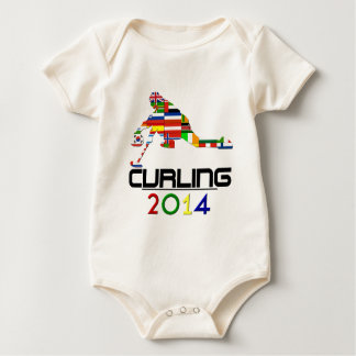 2014: Curling Baby Bodysuit