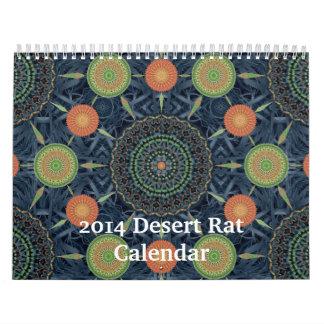 2014 Desert Rat Calendar