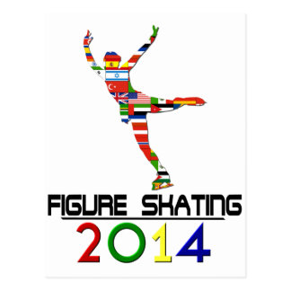 2014: Figure Skating Postcard