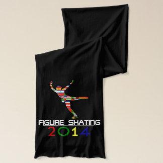 2014: Figure Skating Scarf