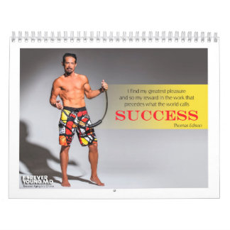 "2014 ""Forever Young"" Fitness Wall Calendar"