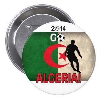 2014 Go Algeria! 3 Inch Round Button