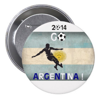 2014 Go Argentina! Pinback Buttons