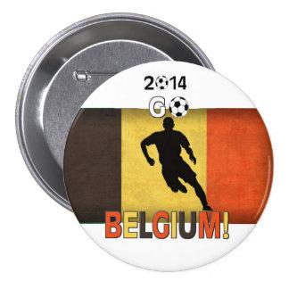 2014 Go Belgium! 3 Inch Round Button