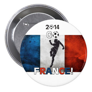 2014 Go France! Pinback Button