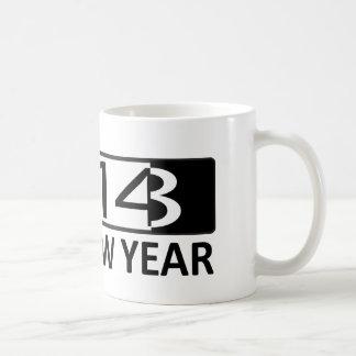 2014 Happy New Year Mugs
