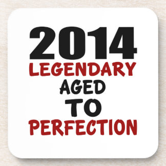 2014 LEGENDARY AGED TO PERFECTION COASTERS