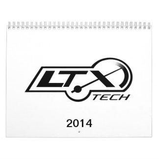 2014 LTxTech.com Calendar