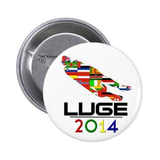 2014: Luge 2 Inch Round Button