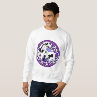 2014 MinkMode Unicorn Sweatshirt - Black/White