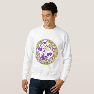 2014 MinkMode Unicorn Sweatshirt - Purple/Yellow
