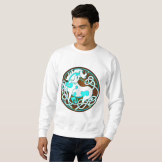 2014 MinkMode Unicorn Sweatshirt - White/Blue