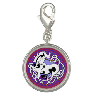 2014 MinkStyle Unicorn Charm - Black/White