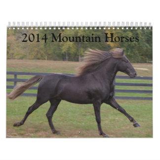 2014 Mountain Horse Calendar