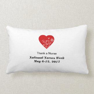2014 National Nurses Week Lumbar Pillow