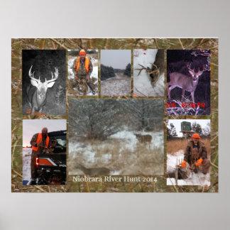 2014 Niobrara River Hunter Poster