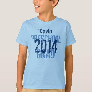 2014 or Any Year Preschool New Grad Custom v10 T-Shirt