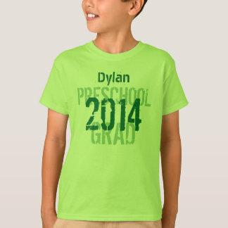 2014 or Any Year Preschool New Grad Custom v12 T-Shirt