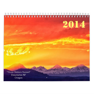 2014 PHOTO CALENDAR by Mac Tippins