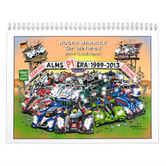 "2014 Roger Warrick ""Car-icatures"" Calendar"