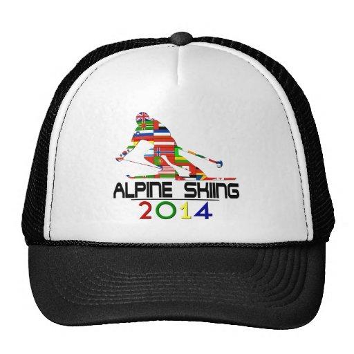 2014 : Ski alpin Casquettes