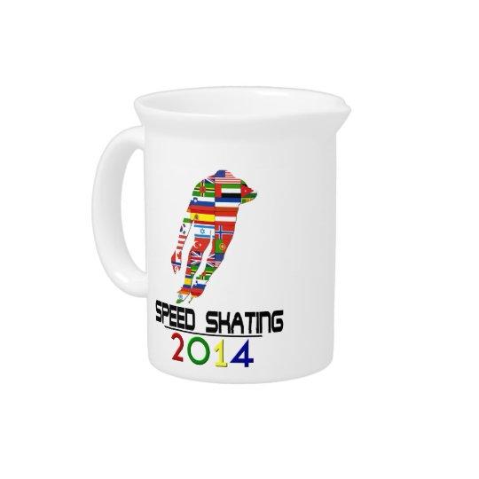 2014: Speed Skating Pitcher