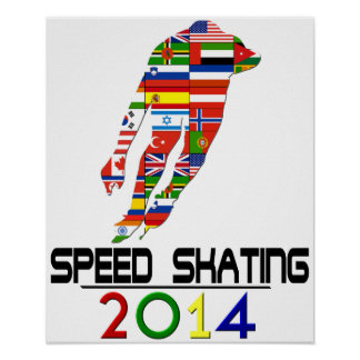 2014: Speed Skating Poster
