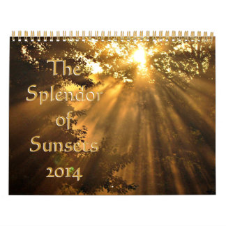 2014 Splendor of Sunsets Calendars