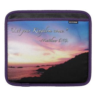 2014 Sunset Horizontal iPad Sleeve