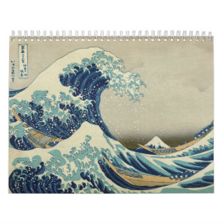 2014 - The Great Wave: The Art of Hokusai Wall Calendars