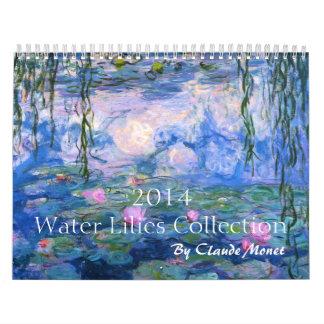 2014 Water Lilies Collection Calendar