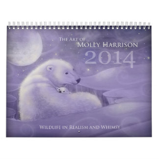 2014 Whimsical Wildlife Wall Calendars