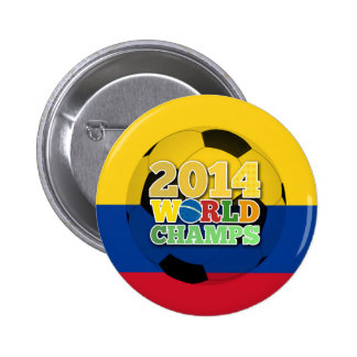 2014 World Champs Ball - Colombia Pin