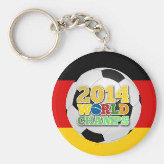 2014 World Champs Ball Germany Keychain