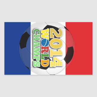 2014 World Champs Ball - Holland Rectangle Stickers