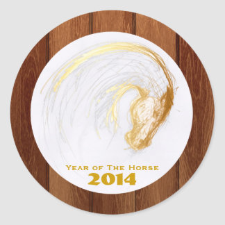 2014 Year of The Horse - Customizable Stickers