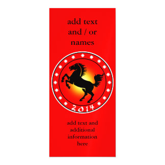 2014 Year of the Horse Magnetic Invitations