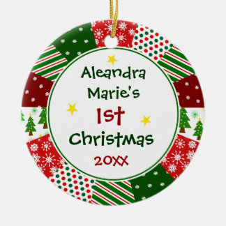 2014 Your Baby s Photo and 1st Christmas Ornaments