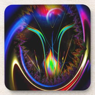 20150608-Fertile imagination 8 Rainbow Flower Drink Coasters