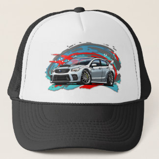 2015-2018_White_WRX Trucker Hat