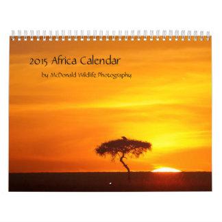 2015 Africa Calendar by McDonald Wildlife