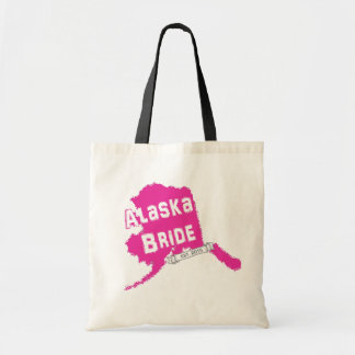 2015 AK Bride Map Tote in Pink