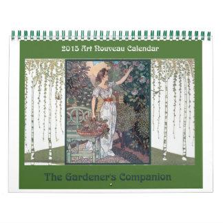 2015 Art Nouveau Calendar: A Gardener's Companion Calendars