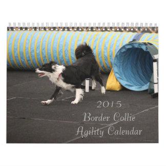 2015 Border Collie Agility Calendar