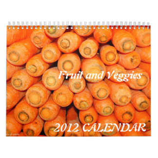 2015 Calendar - Fruit and Veggies
