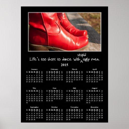 2015 Demotivational Wall Calendar: Man Problems Print