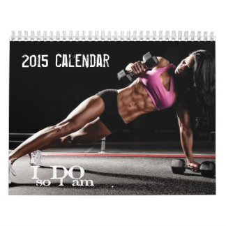 2015 Fitness Motivational Calendar For Women