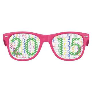 2015 flammes de partie de nouvelle année lunettes de soleil